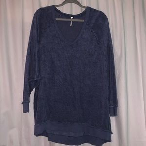 Free People Take It Off Oversized Pullover Sweater